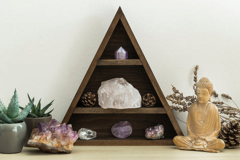 Healing crystals in your practice