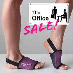 Office Sale! Rich Plum YogaPaws SOCKS