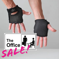 Office Sale! Classic Black YogaPaws GLOVES