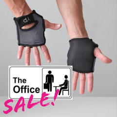 Office Sale! Monsoon Gray YogaPaws GLOVES