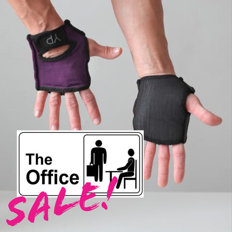 Office Sale! Rich Plum YogaPaws GLOVES