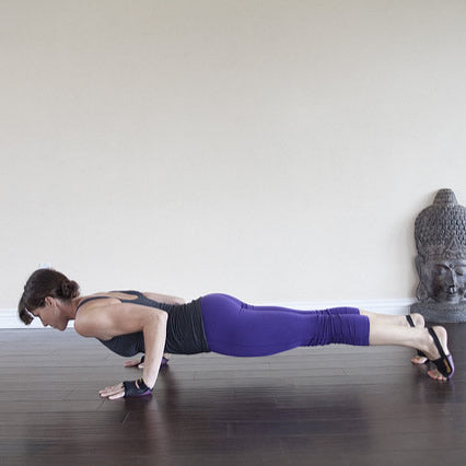 How to Chaturanga Dandasana