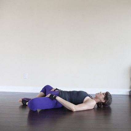 How to Reclined Bound Angle Pose