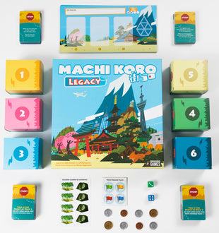Critical Smashes Machi Koro Legacy & Mental Blocks Hit Shelves This Week!