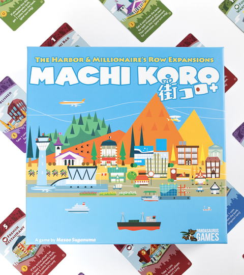 Machi Koro: 5th Anniversary Expansions releases this June!
