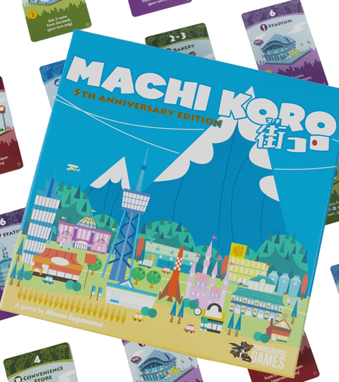 Machi Koro is back with an all new 5th Anniversary Edition!