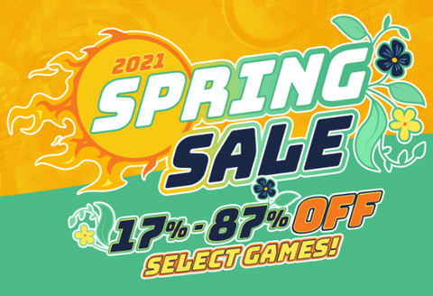2021 Spring Sale live now!