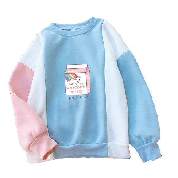 Unicorn Milk Kawaii Sweatshirt