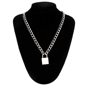 E Girl Punk Chain Necklace