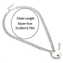 Load image into Gallery viewer, E Girl Punk Chain Necklace