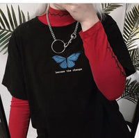 'Become The Change' Butterfly T-shirt