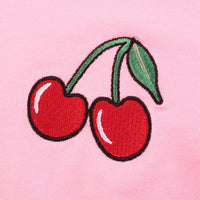Cherry Pink Crop T-shirt