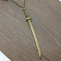 Katana Pendant Necklace