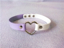 Load image into Gallery viewer, Pastel Goth Heart Choker