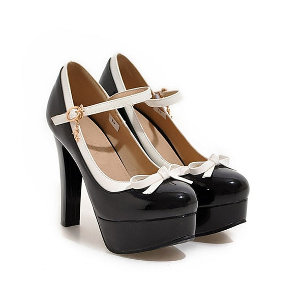 Lolita Super High Heel Mary Janes