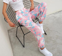 Pink Camouflage Cargo Pants