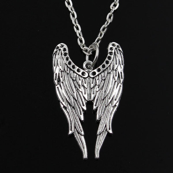 Tibetan Silver Angel Wings Pendant
