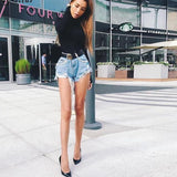 High Neck Skinny Body Suit