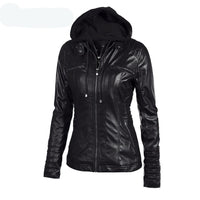 Gothic Faux Leather Jacket
