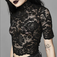 Willow Goth Lace Top