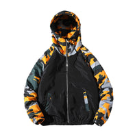 Lightweight Hooded Camo Jacket