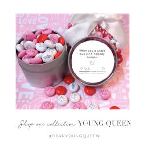 "Single Queen Valentine's Day ""Snack"" Tin"