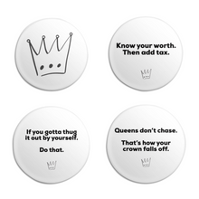 Load image into Gallery viewer, @dearyoungqueen Buttons