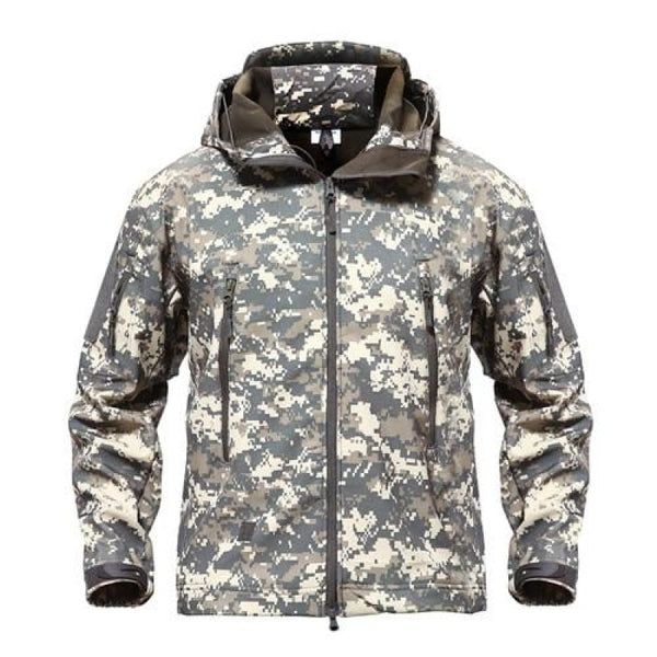 Military Style Jacket - Acu / S / China