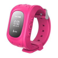 Gps Kid Tracker Smart Wrist Watch - Pink