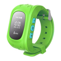 Gps Kid Tracker Smart Wrist Watch - Green