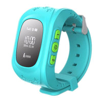 Gps Kid Tracker Smart Wrist Watch - Blue