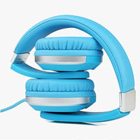 Premium Comfort Foldable Headphone - Blue