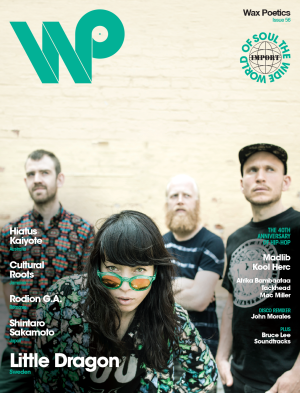 Issue 56 (Little Dragon b/w Hiatus Kaiyote Cover)