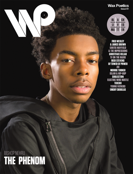 Issue 61 (Second Cover: Bishop Nehru b/w Ghostface Killah)