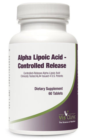 Alpha Lipoic Acid - Controlled Release (60 tablets)