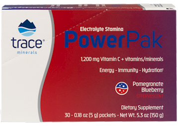 PowerPak Electrolyte Stamina-  Pomegranate Blueberry