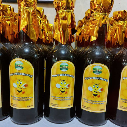 Pure Local Wild Honey from the Sagada Mountains - order price / 350 ml sealed bottle