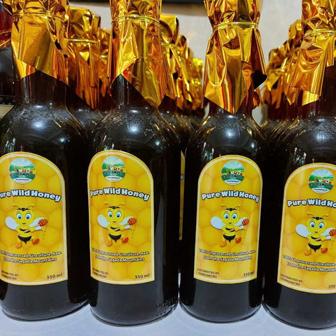 Pure Local Wild Honey from the Sagada Mountains - order price / 350 ml sealed bottle (5 bottles)