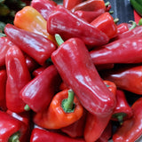 Fresh Organic Red Bell Pepper - order price / 250 grams