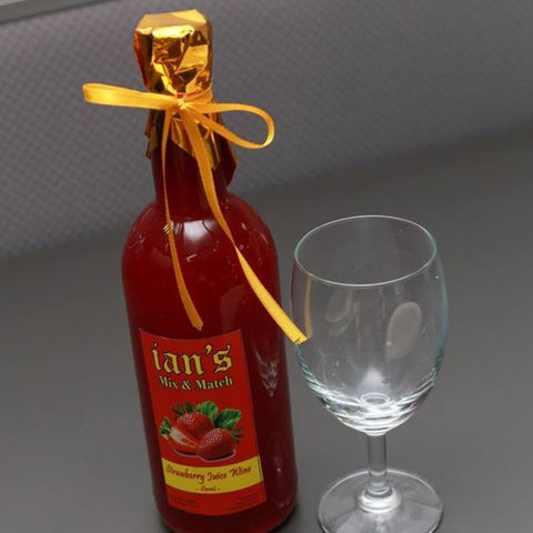 Local Strawberry Wine - order price / bottle (700 ml) - Farm2Metro