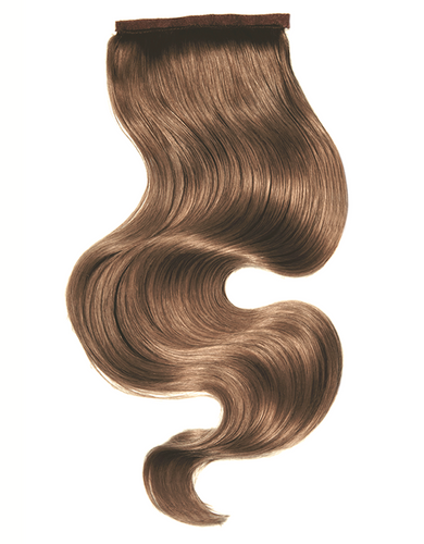 Clip In Ponytail -Ash Brown - Just Bought It Hair