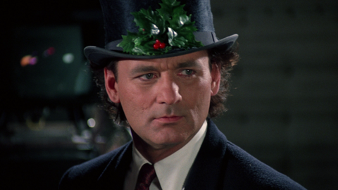 Bill Murray Quotes - Scrooged - Hallucination Brought On By Alcohol