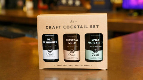Christmas Gift Ideas for Him - Craft Cocktail Set - Moscow Mule Old Fashioned and Spicy Margarita