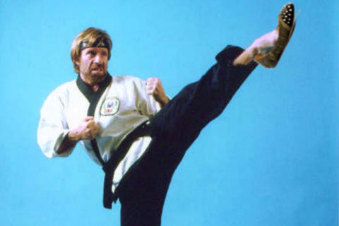 Chuck Norris Facts - Chuck Norris Doesn't Throw Up He Throws Down