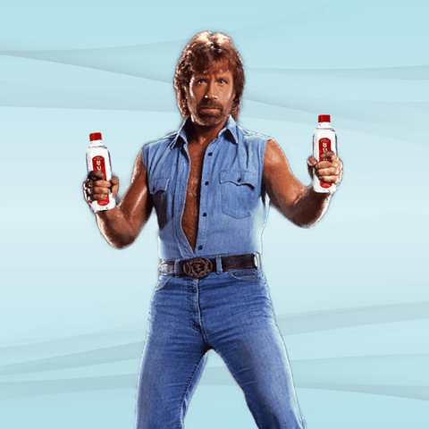 Chuck Norris Tears Cure Cancer