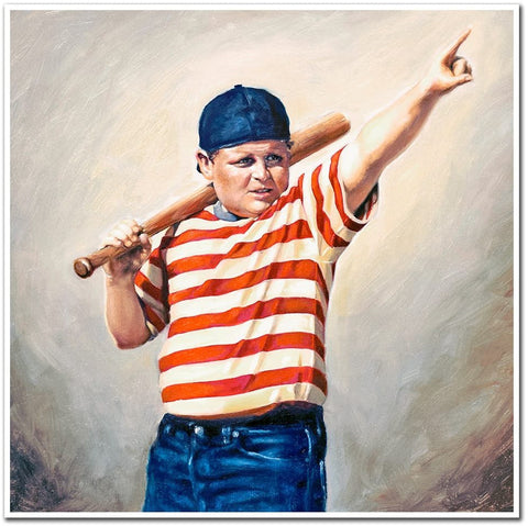 Madison Gregory - Sandlot Art Print - The Great Hambino