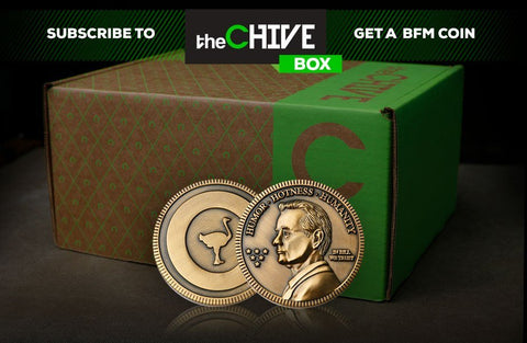 bf815951f ... box of unnatural delights and theCHIVE Box has quickly become one of  the most popular items on theCHIVERY. Your BFM Coin will be delivered with  the ...