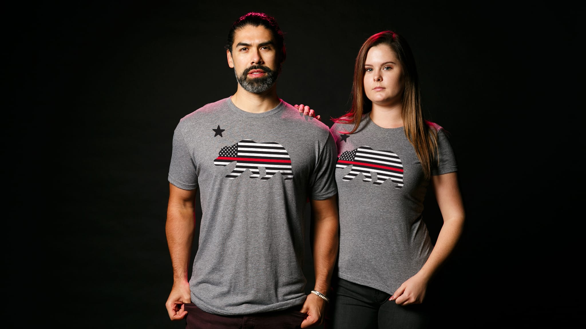 efb6e820 The Thin Red Line Shirts | California Strong | The Chivery