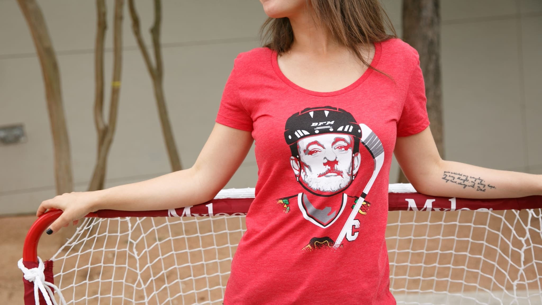 ef641273595 Women s BFM Chicago Blackhawks T-Shirt – The Chivery