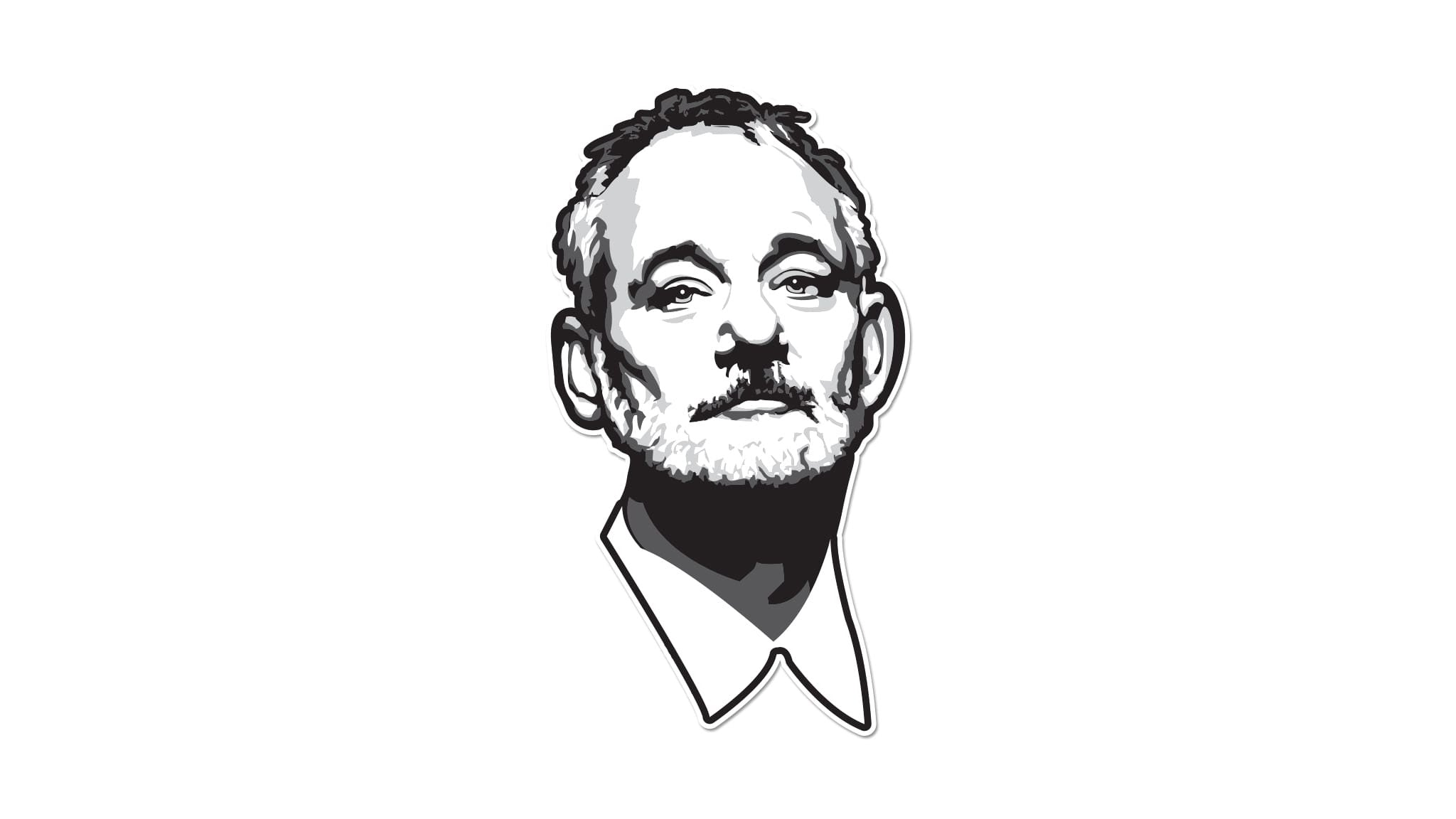 Bill Murray Line Art Wiring Diagrams The Link A2b 1 Telephone Intercom 8211 Dtmf Version Circuit Fucking Sticker Car Decal Chivery Rh Thechivery Com Lines From